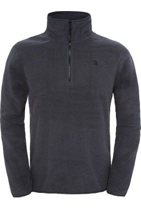 The North Face M 100 Glacier 1/4 Zip Erkek Polar