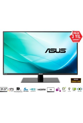 "Asus VA32AQ 31,5"" 5ms (Analog+HDMI+Display) WQHD IPS Monitör"
