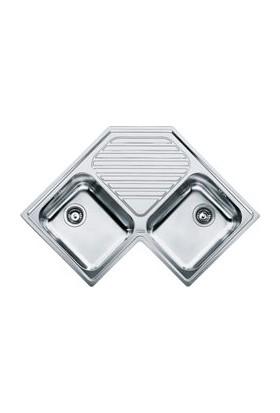 Franke Köşe - Pnx 621-E Paslanmaz Çelik Eviyeler
