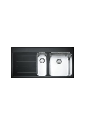 Franke Crystal - Eov 651 Glass Black Eviyeler