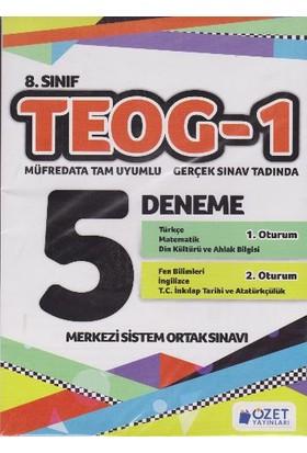 Özet Yayınları 8. Sınıf Teog-1 5 Deneme
