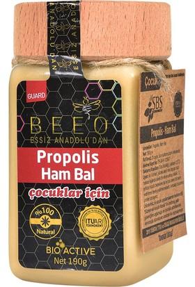 Bee'o Anadolu Propolisi+Ham Bal (Çocuk) 190 Gr