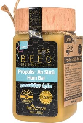 Bee'o Anadolu Propolisi+Arı Sütü+Ham Bal (Çocuk) 190 Gr