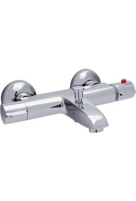 ECA Termostatik Banyo Bataryası Krom