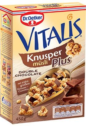 Dr.Oetker Vitalis Knusper Çıtır Çikolatalı Müsli 450 gr