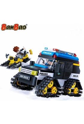 Banbao Lego 315 Parça Polis Seti