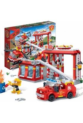 Banbao Lego Oyun Seti 505 Parça İtfaiye Seti