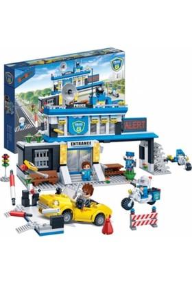Banbao Lego Oyun Seti 938 Parça Polis Karakolu