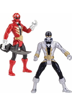 "Bandai Power Rangers Super Mega Force 4"" Figure & Acc"