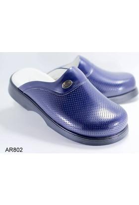 Dr.Arel-802 Orthopedic Sabo Erkek Terlik-Lacivert