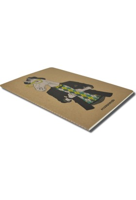 Deffter Cool Animals A5 Defter/ Mustang