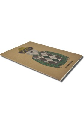Deffter Cool Animals A6 Defter / Scottısh Gentleman