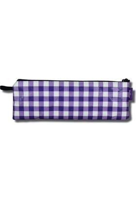 Deffter Tyvek Kalem Çantası 7,5*21 / Purple