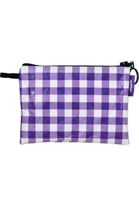 Deffter Tyvek Para Çantası 9,5*13 / Purple