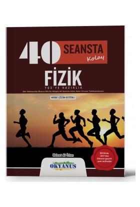 40 Seansta Kolay Fizik Soru Bankası Okyanus Yayınları