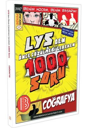 LYS Coğrafya Çözülmesi Gereken 1000 Soru Benim Hocam Yayınları