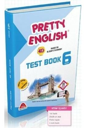 Damla Yayınları 6. Sınıf İngilizce Pretty English Test Book Soru Bankası
