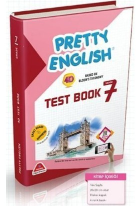 Damla Yayınları 7. Sınıf İngilizce Pretty English Test Book Soru Bankası