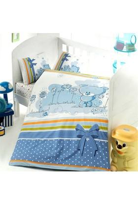 Yorganlı Bebek Nevresim Uyku Seti -Bear