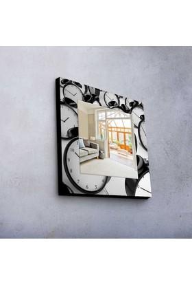 Çalar Saat 50x50 cm MDF Ayna MA-07