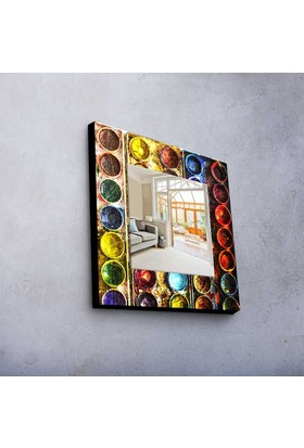 Rengarenk 50x50 cm MDF Ayna MA-49
