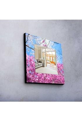İlkbahar 50x50 cm MDF Ayna MA-72