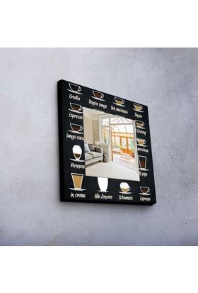 Coffee 50x50 cm MDF Ayna MA-67