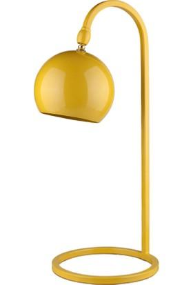 Moddy Serisi Sarı Renkli Oynar Başlıklı Masa Lambası CBJ000700