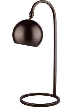 Moddy Serisi Antik Kahverenkli Oynar Başlıklı Masa Lambası CBJ001100