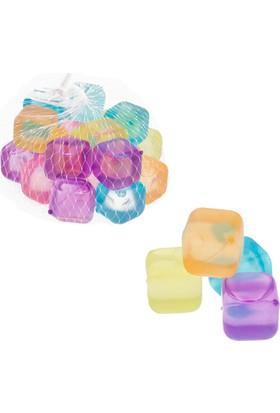 Loveq Buz Küpü Renkli 2,5X2,5X2,5 Cm 20'Li Pk