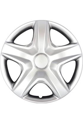 Şentürk Auto 16 İnç Jant Kapağı Seti 4 Lü Takım Çatlamaz, Dayanıklı, Esnek Mitsubishi Evo