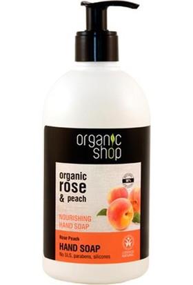 Organic Shop Sıvı Jel Sabun Gül-Şeftali, 500Ml