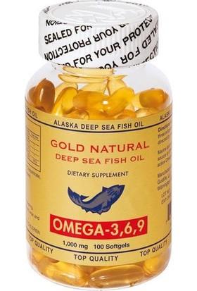 Gold Naturel Omega 3-6-9 100 Soft Jel