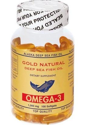 Gold Naturel Omega 3 100 Soft Gels