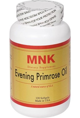 Mnk Evening Primrose Oil 120 Soft Gels