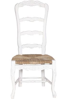 Maxxdepo Champion Maun Beyaz Sandalye
