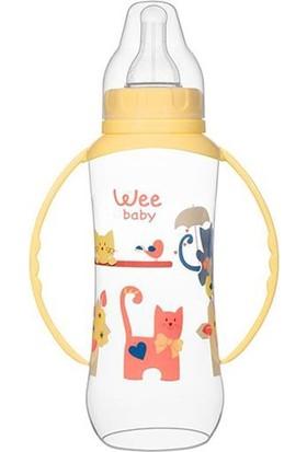 Wee Baby Kulplu Pp Biberon Sarı 270Ml