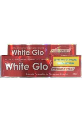 White Glo Extra Beyazlatıcı Diş Macunu 24Gr