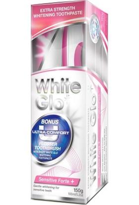 White Glo Hassas Diş Macunu 150Gr - Fırça
