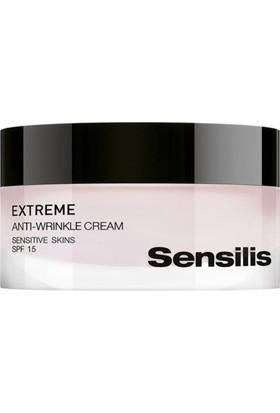 Sensilis Extreme Anti Wrinkle Cream Hassas Ciltler İçin Bakım Kremi Spf15 50Ml