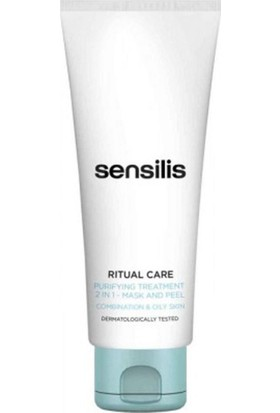 Sensilis Ritual Care 2 İn 1 Mask And Peel Yağlı Ciltler İçin Maske&Peeling 75Ml