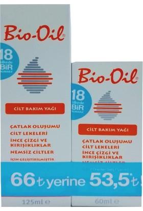 Bio-Oil Cilt Bakım Yağı Avantaj Paketi 125 Ml + 60 Ml
