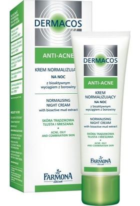 Farmona Dermacos Anti Acne Night Cream 50 Ml.- Yağlı Ve Akneli Ciltler İçin Gece Kremi