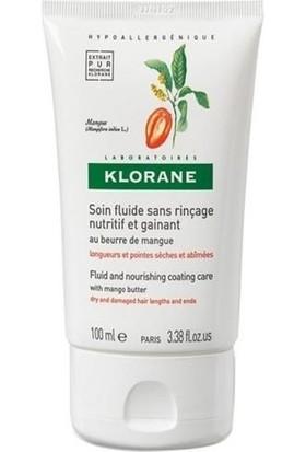 Klorane Soin Fluide Sans Rinçage Nutritif Et Gainant Au Beume De Mangue 100 Ml - Mango Yağı Kuru Saçlar Bakım Kremi