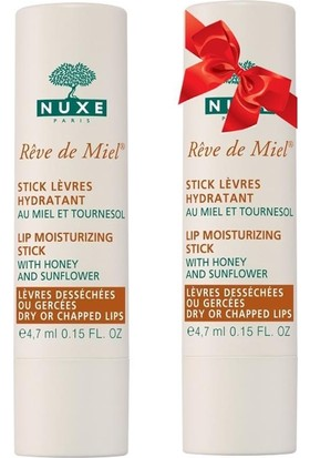 NUXE Reve De Miel Stick Lèvres 4 gr ALANA 2. ÜRÜN HEDİYE