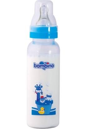 Bambino Natural Pp Desenli Biberon-Mavi 250Ml
