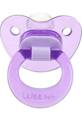 Wee Baby Akide Damaklı Emzik-Mor 18+ Ay