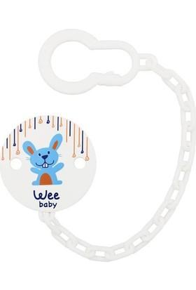 Wee Baby Emzik Askısı-Tavşan Desenli