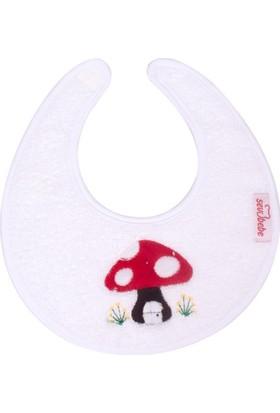 Sevi Bebe Küçük Havlu Önlük Beyaz