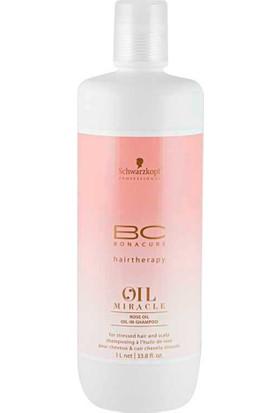 Bonacure Oil Miracle Rose Oil In Shampoo Gül Yağı Özlü Şampuan 1000Ml